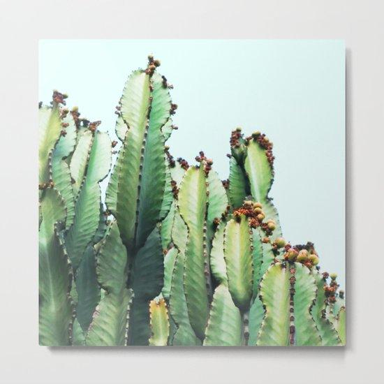 Cactus Love #society6 #decor #buyart Metal Print
