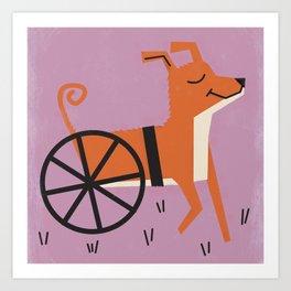 Dog_23 Art Print