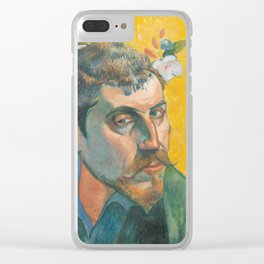 Paul Gauguin - Self-portrait Clear iPhone Case