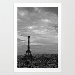 The Triomphe of Eiffel Art Print