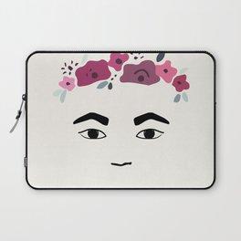 Frida with flowers Laptop Sleeve