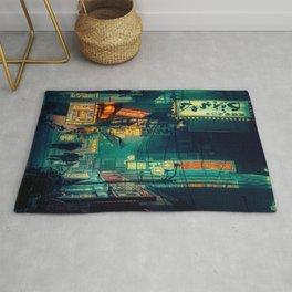 Tokyo Nights / Memories of Green / Blade Runner Vibes / Cyberpunk / Liam Wong Rug