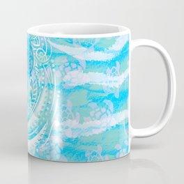 polynesian TURTLE OCEAN spray Coffee Mug