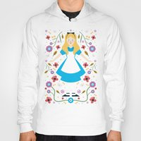 alice Hoodies featuring Alice by Carly Watts