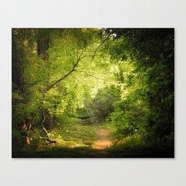 The Secret Path Canvas Print
