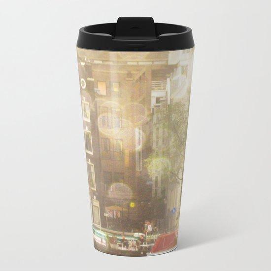 Amsterdam Metal Travel Mug