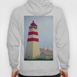 There's a Lighthouse on the Hillside Hoody