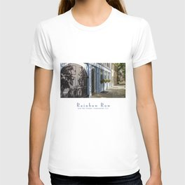Charleston SC No. 4  Rainbow Row T-shirt