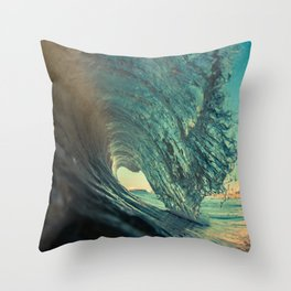Abandoned Paradise Throw Pillow