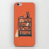 miyazaki iPhone & iPod Skins featuring Ghibli Shelf // Miyazaki by Daniel Mackey
