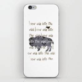 Walk into the Wild iPhone Skin