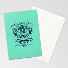 Gangstasaurus Stationery Cards