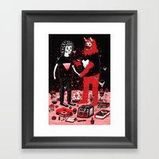 pacto Framed Art Print