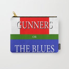 GUNNERS or THE BLUES Carry-All Pouch