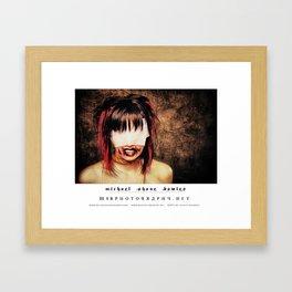 dark things 5 Framed Art Print