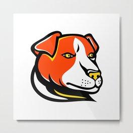 Jack Russell Terrier Mascot Metal Print