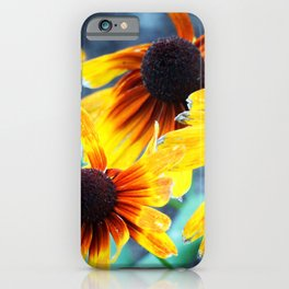 Sunflower Flame iPhone Case