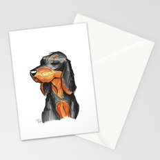 Brush Breeds-Black-and-Tan Coonhound Stationery Cards