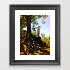 Roots of the Big Apple Framed Art Print