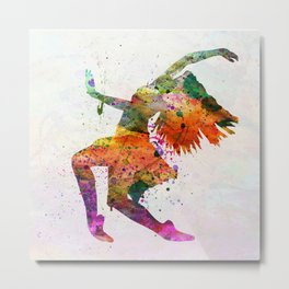 dancing to the night Metal Print