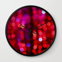 lights shine Wall Clock