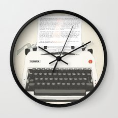Ruby Sparks Wall Clock