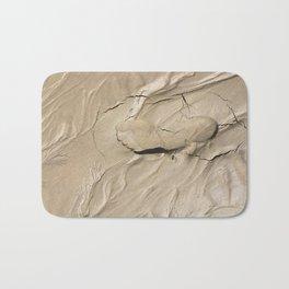 FootPrint in Hidden Sinking Sand - Crack my Heart Bath Mat