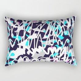 Graffiti illustration 02 Rectangular Pillow