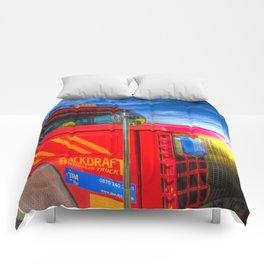 Backdraft Fire Truck Comforters