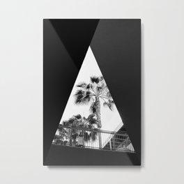 Form & Palm Trees Metal Print
