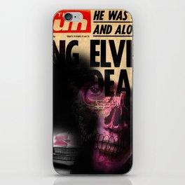 ELVIS'S IS DEAD iPhone Skin