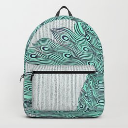 'A very, very peacock' Backpack
