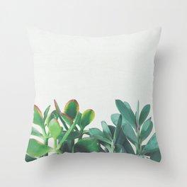 Crassula Group Throw Pillow