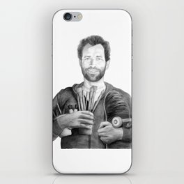 Mark Gonzales - The Gonz - Skateboarder and Artist iPhone Skin