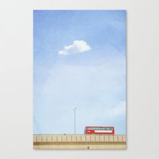 Lonely Skies - London Canvas Print