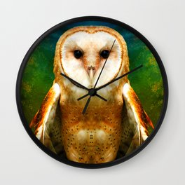 Her Memory Enshrouds My Heart (brighter version) Wall Clock