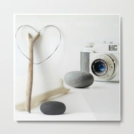 Photo Love Metal Print