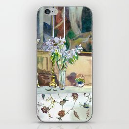 flowers and candles iPhone Skin