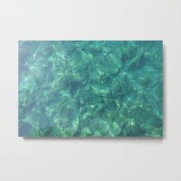 Ocean In Motion Metal Print