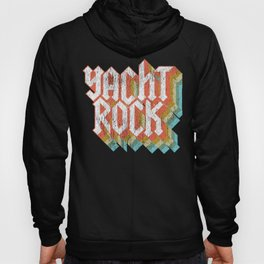 Vintage Fade Yacht Rock Party Boat Drinking print Hoody