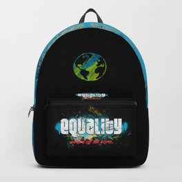 Equality! We are all the same! Retro Vintage Anti-Racism Backpack