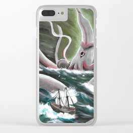 Ravaged by Time Clear iPhone Case