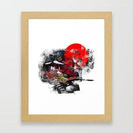 Abstract Kyoto Framed Art Print