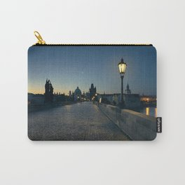 Charles Bridge at Blue Hour Carry-All Pouch