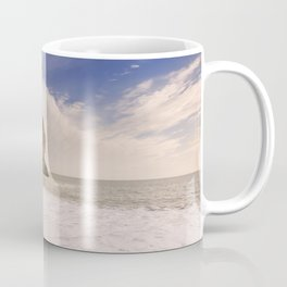 Durdle Door arch in Southern England on a sunny day Coffee Mug