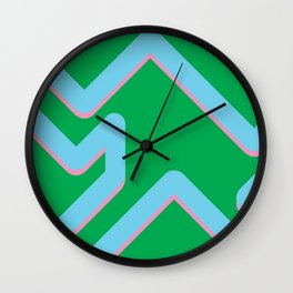The form Wall Clock
