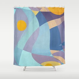 Sun is Life Shower Curtain