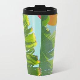 tropical sailing boat Travel Mug