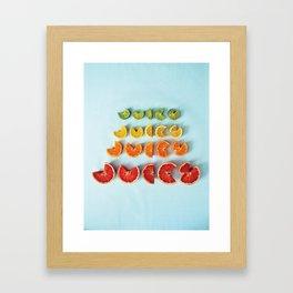 Juicy II Framed Art Print