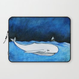 Seastorm over the whale Laptop Sleeve